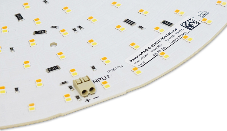 PassivePAQ, led-moduuli, moduuli, led, led levy, valaisinkomponentti, LED valaisin, led optiikka, led linssi, LED module, module, led, led board, high power led board, luminaire component, LED light, led optics, led lens